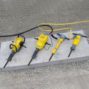 leichte Bau- und Abbruchwerkzeuge