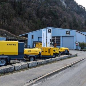 Reparaturen und Service an Baugeräten